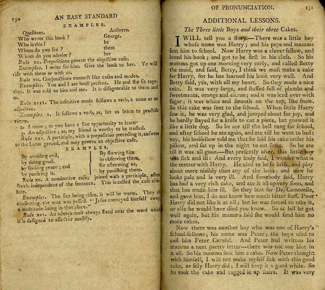The American Spelling Book, by Noah Webster (1800?)