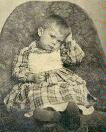 tintype of child